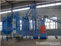 New type wood pellet mill production line