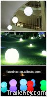 Waterproof LED ball lamp with remote control