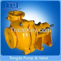 Rubber Lined Electric Horizontal Centrifugal Slurry Pump