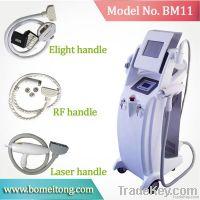 Multifunctional 3 in 1 IPL RF laser hair removal machine
