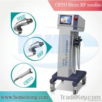 Acne scars removal machine fractional rf microneedle