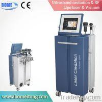 Lipo laser ultrasonic radio frequency slimming machine