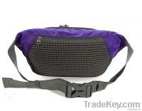 Fashion foldable sport waist bag for men or woman