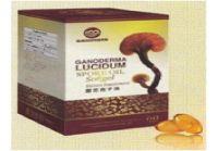 Ganoderma spore oil softgel capsules