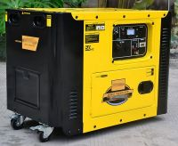 Electric Start Portable Diesel Generator