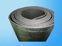 Sponge pieces of aluminum foil insulation