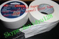 Fiber Paper Drywall Joint Tape, flexible corner drywall tape, adhesive paper corner tape, gypsum board joint tape