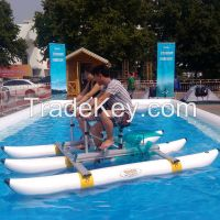 Double Men Entertainment Racing Boat, Water Bicycle, Fishing Boat