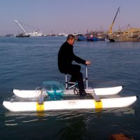 Water Bicycle Water Bike Sea Bicycle Sea Bike Pontoon Pedal Boat Hydro Bike Price