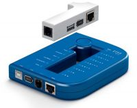 New Arrival Lan tool Kits Lan Tester for RJ45 RJ11 1394 USB Cable Tester