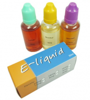E-liquid with various flavors