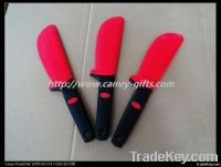 Top selling 100% food grade silicone bakery mould, silicone cake knife