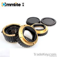 Gold Electronic TTL Auto Focus AF Macro Extension Tube/Ring for Canon