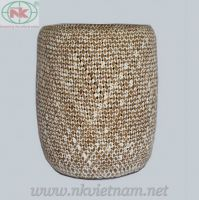 Rattan & bamboo fruit basket