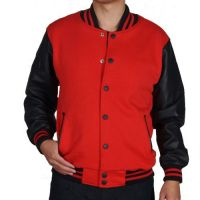 Wool Leather Varsity Jackets
