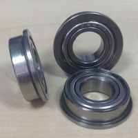 Bore sizes 1mm to 9mm Flanged Bearings