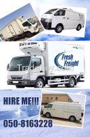 Refrigerated Truck,Chiller Van,Freezer pick up,Reefer Trailer Rental UAE