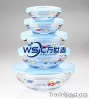 glass bowl set