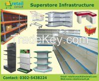 Superstore rack, Store rack, Cash & Carry rack, Display rack, Storage rack Manufacturer