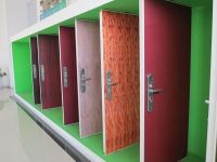 eco-friendly and never out of fashion interior and security door