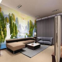 decorative and cheap and high quality interior wall panel and TV background wall panel