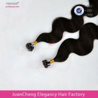 Wholesale fashion remy micro ring loop hair extension, cheap loop remy hair micro rings extensions
