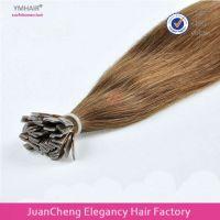 Wholesale Remy European flat Hair Extensions Fashion Keratin flat Tip hair