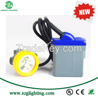 GLT-7C anti-explosive 15000lux at 1 meter high brightness led cap lamp with rechargeable battery