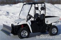 350CC 4x4 off road side by side EPA UTV Farm Vehicles With Snow Plow
