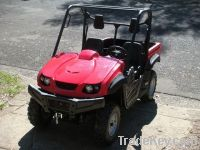Side By Side 700CC 2/4 Seater 4WD UTV EEC Farm Utility Vehicles
