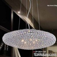 K9 crystal chandelier-oval