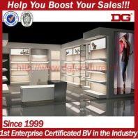 Modern Wooden Adjustable Retail Shoe Display Rack