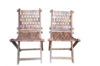 wodden tukdi folding chair