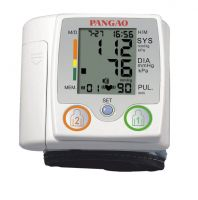 Double Type Wrist Digital Blood Pressure Monitor with CE0413/FDA510k Certification
