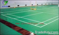 PVC sports floor for indoor badminton