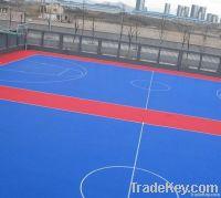 outdoor basktetball floor PPinterlock floor