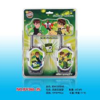 BEN10 Cartoon Toys Walkie Talkie For Kid