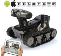 2013 New Arrived!iOS/Android Wifi Controlled WirelessTank With Moving Camera wifi tank with camera