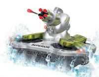 Hot rc toy! rc amphibious tank(shoot target)