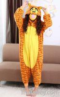 latest style yellow tigger christmas costume wholesale cheap kigurumi onesie