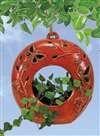 Hanging Sphere Orange Butterfly