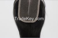 "High quanlity wholesale 100% human hair lace top closure 4""x4"" cheap price"
