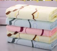 260g/m3 33*73cm Bear Design Microfiber Towel 80/20