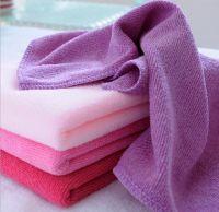 200g/m3  30*70cm Microfiber Wiper Cleaning Cloth Super Absorbant