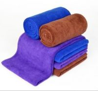 200g/m3  30*70cm Car Microfiber Cleaning Cloth Super Absorbant