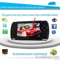 "4.3"" dual core RK3028 wifi android smart game console"