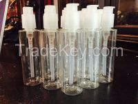 Qty: 1400 pcs available - 8 oz PET Bottles with Airless cosmetic dispenser pump