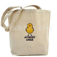 Wholesale Custom Reusable Blank Cotton Canvas Tote Bag