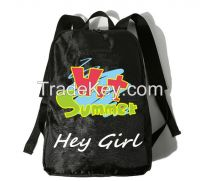 Outdoor Camping Use Waterproof Nylon Sports Backpack With Custom Logo