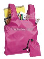 Promotional Cheap Polyester Foldable Shopping Bag